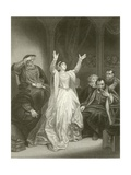 Condemnation of Anne Boleyn Giclee Print by Robert Smirke