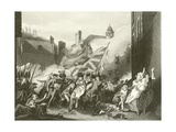 The Death of Major Pierson Giclee Print by John Singleton Copley