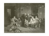 The Blind Fiddler Giclee Print by Sir David Wilkie