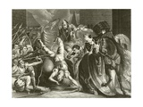 The Death of Wat Tyler Giclee Print by James Northcote