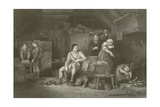 Alfred in the Neatherd's Cottage Giclee Print by Sir David Wilkie