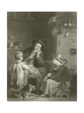 The Jews Harp Giclee Print by Sir David Wilkie