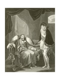 Henry IV Reproving Prince Henry Giclee Print by Robert Smirke