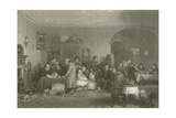 The Rent Day Giclee Print by Sir David Wilkie