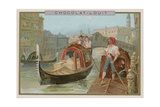 Gondola, Venice Giclee Print