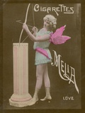 Love, Girl Dressed as Cupid Photographic Print