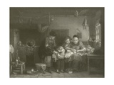 The Cut Finger Giclee Print by Sir David Wilkie