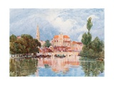 St. Germain, Auxerre Giclee Print by Herbert Menzies Marshall