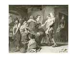 Pestalozzi, the Children's Friend Giclee Print by Konrad Grob