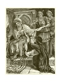 The Unjust Judge Giclee Print