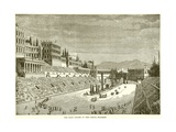 The Race Course in the Circus Maximus Giclee Print
