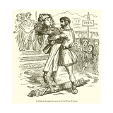 A Lictor Is Sent to Arrest Publilius Volero Giclee Print by John Leech