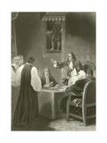 The Bishops before the Privy Council 1688 Giclee Print by Robert Smirke