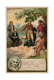 George Washington before the American Revolution Giclee Print