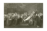 The Death of Chatham Giclee Print by John Singleton Copley