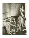 Charlotte Corday and Marat Giclee Print by Paul Baudry