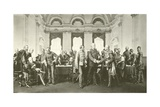 The Berlin Conference Giclee Print by Anton Alexander von Werner