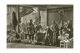 The Enrollment of Volunteers, 1870 Giclee Print by Alfred Paul Marie Richemont