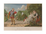 Malvolio and the Countess Giclee Print by Daniel Maclise