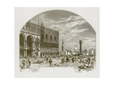 Gernutus the Jew of Venice Giclee Print by Myles Birket Foster