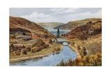 Pen-Y-Garig Dam, Elan Valley, Rhayader Giclee Print by Alfred Robert Quinton