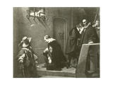 The Death of Strafford Giclee Print by Hippolyte Delaroche