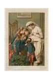 Mamma's Christmas Present: a Boy at Last Giclee Print by William Frederick Yeames