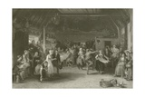 The Penny Wedding Giclee Print by Sir David Wilkie