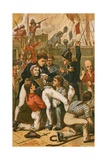 The Death of Lord Nelson Giclee Print