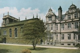 Trinity College and President's House Photographic Print