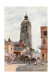 Tour De L'Horlage, Tours Giclee Print by Herbert Menzies Marshall