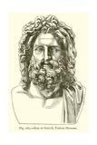 Zeus of Otricoli, Vatican Museum Giclee Print
