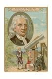 Isaac Newton Giclee Print