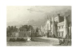 South View of Lowther Castle Giclee Print by Thomas Allom