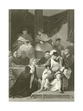 Trial of the Marriage of Henry Viii Giclee Print by Robert Smirke