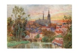 Chartres Giclee Print by Herbert Menzies Marshall
