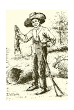 Huckleberry Finn Giclee Print by Edward Windsor Kemble