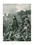 The Only Uncrowned King of England: Edward V Giclee Print by Richard Caton II Woodville
