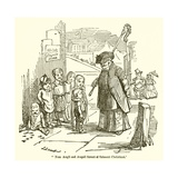 """Non Angli Sed Angeli Forent Si Fuissent Christiani"" Giclee Print by John Leech"