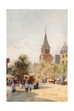 St. Germain Des Pres, Paris Giclee Print by Herbert Menzies Marshall
