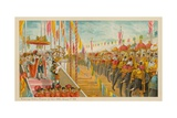 Proclaiming Victoria Empress of India-Delhi- 1 January 1877 Giclee Print by  English School