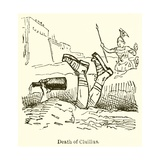Death of Cluilius Giclee Print by John Leech