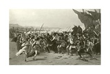 The Victors of Salamis Giclee Print by Fernand Cormon