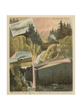 The Canadian Pacific Railway and Suez Canal. the Two Short Roads to Our Eastern Possessions Giclee Print