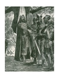 The Military Election of Alfred the Great, First King of All England Giclee Print by Richard Caton II Woodville