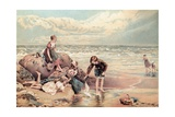 The Dead Sea-Bird Giclee Print by Myles Birket Foster