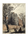 The Lollard's Tower, Lambeth Palace, London Giclee Print by Myles Birket Foster