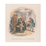 Illustration for Nicholas Nickleby Giclee Print by Hablot Knight Browne