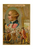 Claude-Francois-Dorothee, Marquis De Jouffroy D'Abbans, 18th Century French Steamboat Inventor Giclee Print