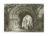 Chapter House, Furness Abbey Giclee Print by Thomas Allom